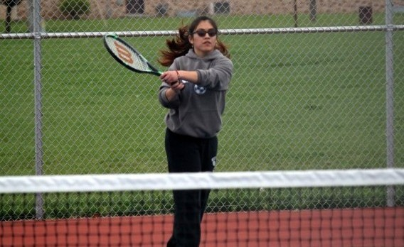 Chargers Down Eagles in Girls Tennis