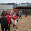 JV softball vs Fremont 5-17-16