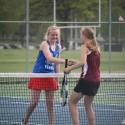 Girls Tennis vs NECC 1st day 5-13-16