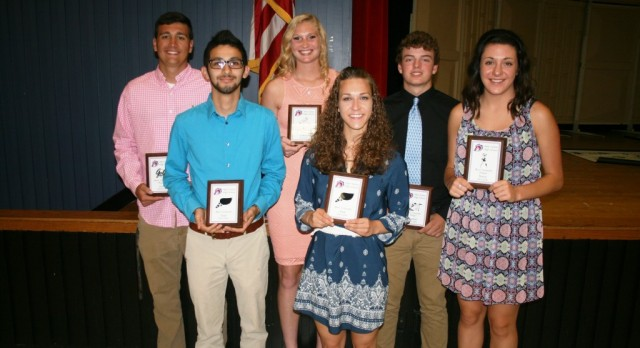 West Noble Spring Sports Award Winners