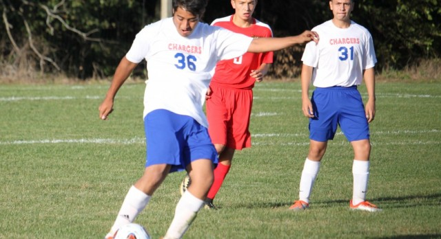 West Noble High School Boys Junior Varsity Soccer beat Westview High School 2-1