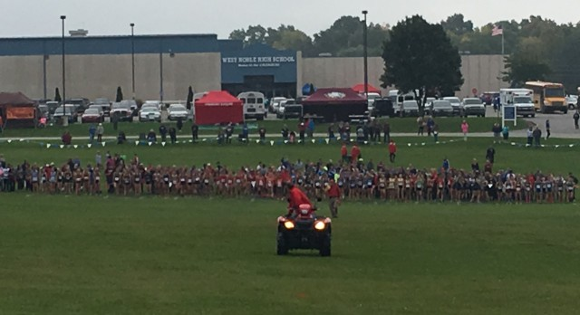 Girls Regional Cross Country Results