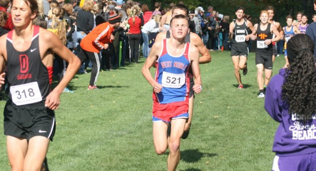 West Noble's Thompson Ready For State Cross Country Meet