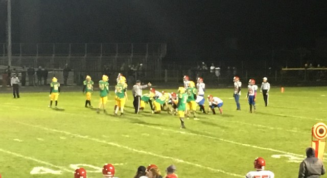 West Noble High School Varsity Football beat Tippecanoe Valley High School 30-28