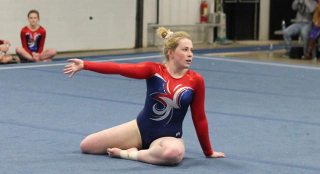 West Noble High School Girls Varsity Gymnastics finishes 2nd place