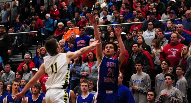 West Noble Battles Fairfield in Sectional Finale