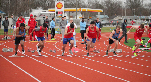West Noble High School Boys Varsity Track finishes 3rd place
