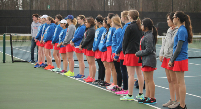 West Noble High School Girls Varsity Tennis falls to Northridge High School 5-0