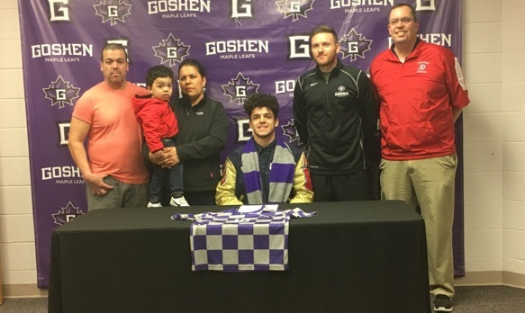 West Noble's Uriel Macias Signs With Goshen College