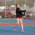 WN Girls Tennis vs Goshen 4-21-17