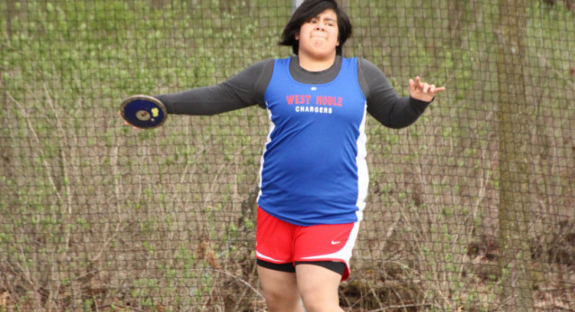 Lady Chargers Top Prairie Heights in Girls Track