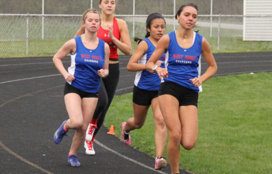 Lady Chargers Top Westview in Girls Track Meet