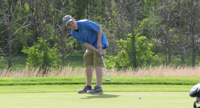 Chargers Compete in NECC Golf Meet; Bohde Makes All NECC Team