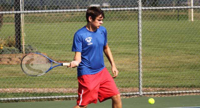 West Noble High School Boys Varsity Tennis beat Central Noble High School 5-0