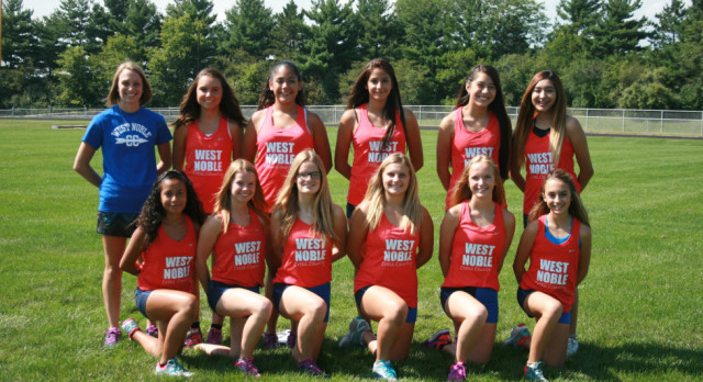 West Noble Girls XC Wins Prairie Heights Invite