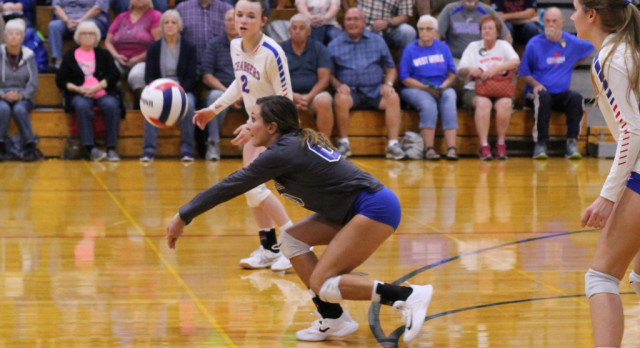 West Noble High School Girls Varsity Volleyball beat vs 												Lakeland HS 3-0