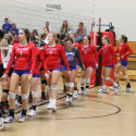 Volleyball Concord Invite WN vs NorthWood 9-9-17