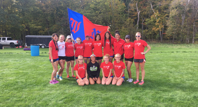Murillo and Wallen Compete at Girls XC Semi State