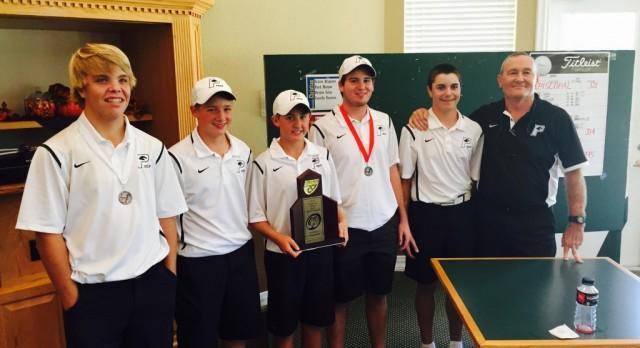 Boys Golf Wins FHSAA District Championship