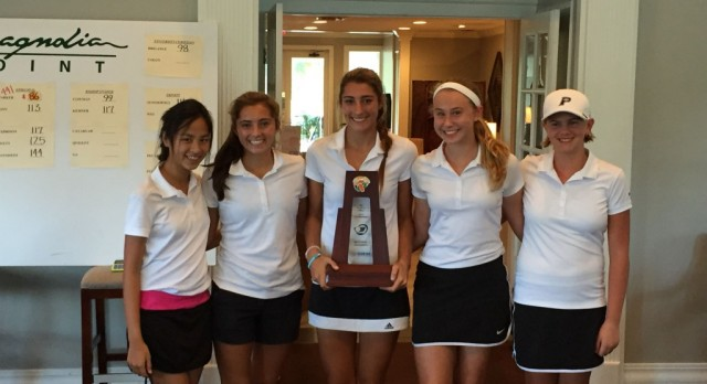 Girls' Golf Wins Regional Tournament