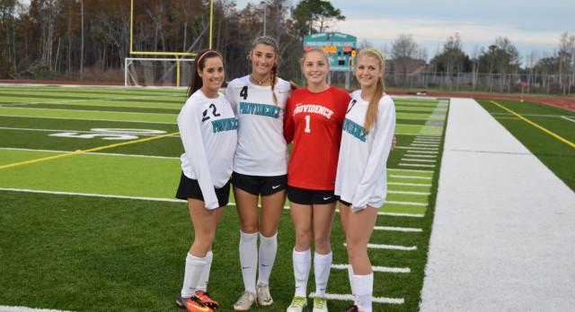 Providence School Girls Varsity Soccer beat Fernandina 4-0