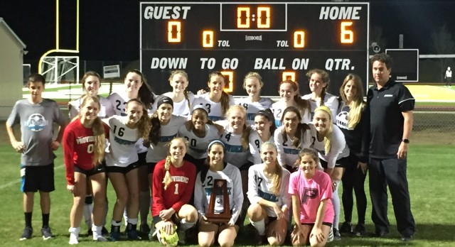 Providence School Girls Varsity Soccer beat Fernandina Beach High School 6-0