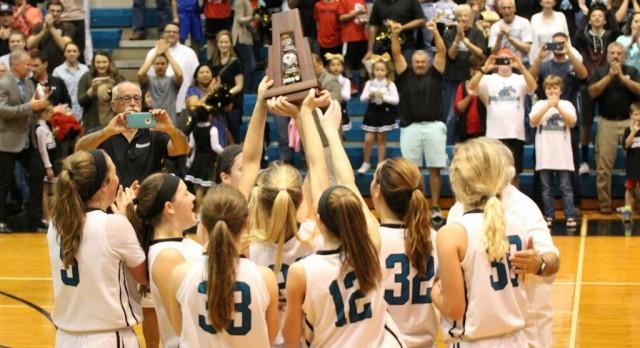 Providence School Girls Varsity Basketball beat University Christian 46-34