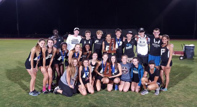 Varsity Girls Track Wins Regionals!  Boys Finish Regional Runner-up!