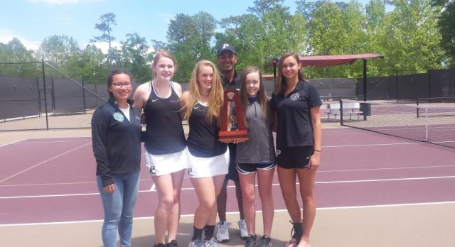 Girls Tennis District Runner Up