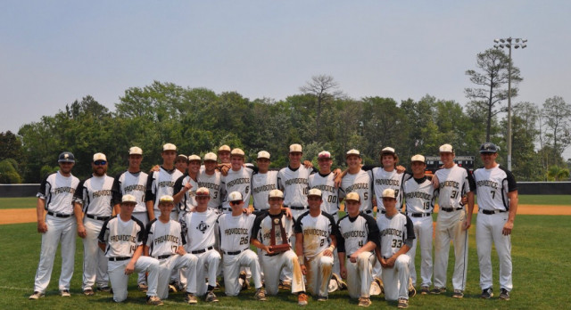 Providence School Varsity Baseball beat Episcopal 15-0