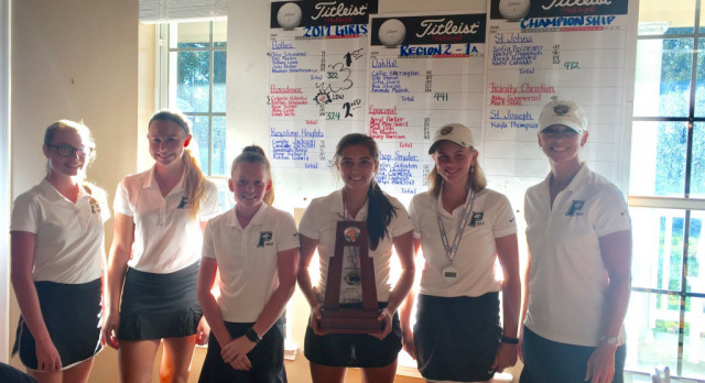 Providence Girls Golf Advances to the State Tournament