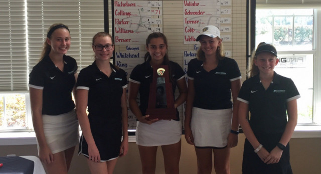 Providence Stallions Girls Golf Wins Districts