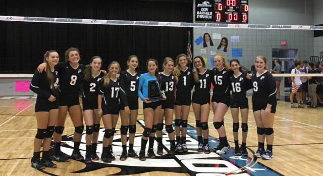 MS Volleyball Wins IMSC