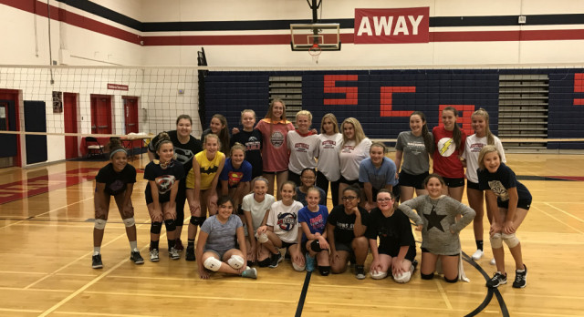 8/7 – 8/10: Middle School Volleyball Try-Out Prep Clinics