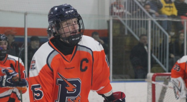 Powers Catholic's Brendan Walker wins MLive-Flint Hockey Player of the Year!