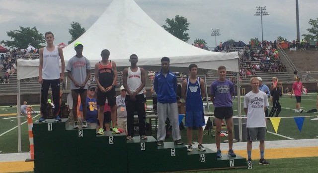 Ann Arbor Skyline's Anthony Giannobile makes statement in 1600m state finals