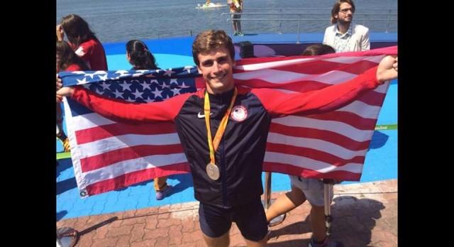 Paralympics Silver in Rio, for alum Zach Burns