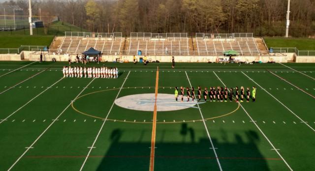 Skyline High School Girls Varsity Soccer beat Ann Arbor Huron High School 2-0