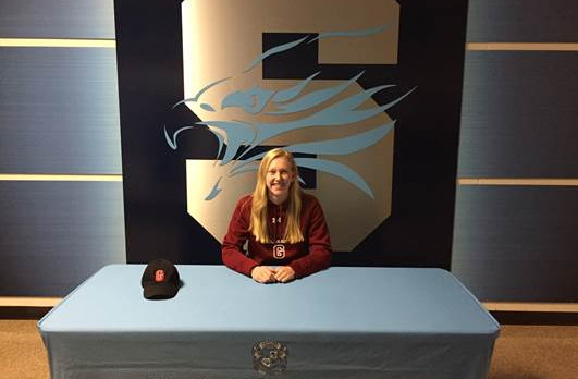 Eagle Alexandria Milot signs with Grove City