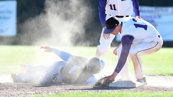 Skyline High School versus Pioneer High School varsity baseball, Monday, May 8, 2017.