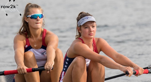 Crew's Kate Burns takes 9th at Worlds