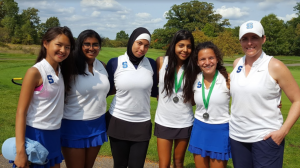 Girls golf Hudson Mills V Results 2017