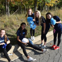 Skyline Volleyball Team Participates in Homecoming 2017 Parade