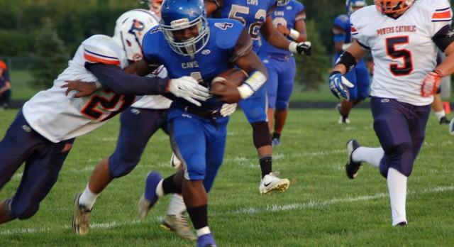 Carman-Ainsworth High School Varsity Football beat Powers Catholic High School 41-7