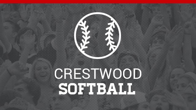 Crestwood High School Varsity Softball beat Mogadore High School 5-2
