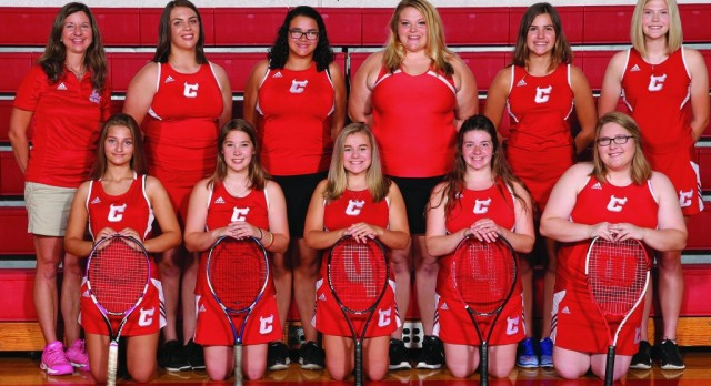 Girl's Tennis finishes 3rd at PTC Tournament & 3rd overall for best finish of all time
