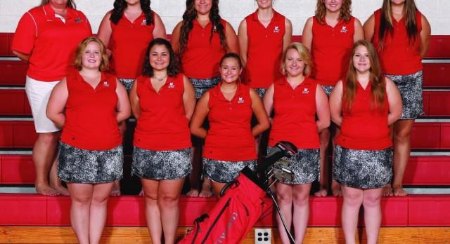 Girls Varsity Golf falls to Springfield High School 199-220