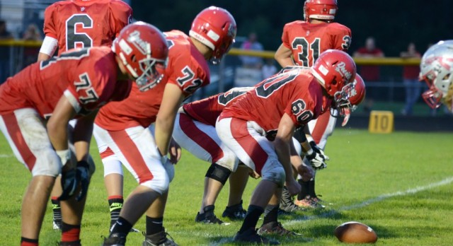 Red Devil success comes from the O-Line
