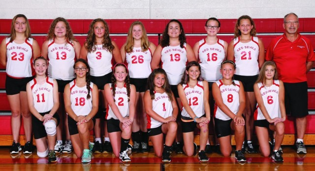 7th Grade Volleyball plays for PTC Championship on Saturday
