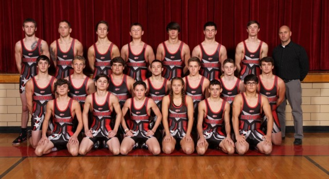Red Devil Wrestling advance seven to Alliance District next weekend